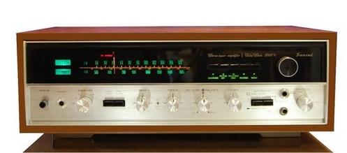 Sansui 5000X Stereo Receiver