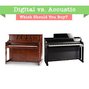 声学与数字钢琴。 你应该买哪个?
