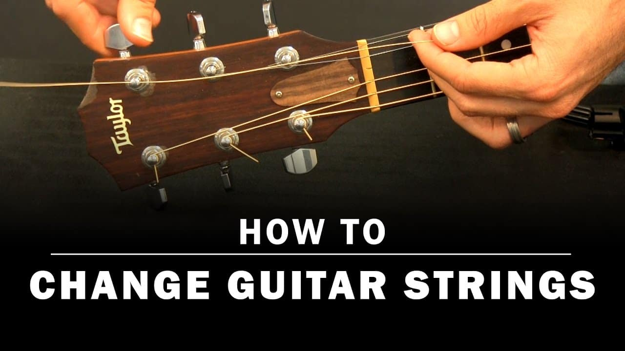 How To Change Guitar Strings