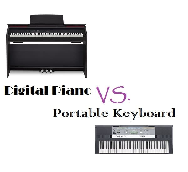 Digital Piano vs Electric Keyboard